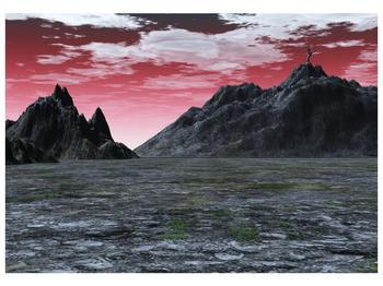 Obraz skalnaté přírody (F001712F10070)