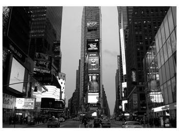 Černobílý obraz New Yorku (F001749F10070)