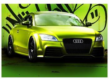 Obraz zelené Audi  (F003676F10070)