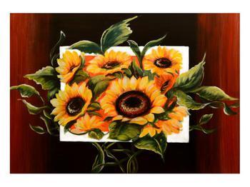 Tablou cu floarea soarelui (K011496K10070)