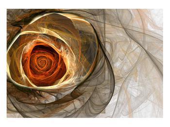 Tablou modern cu trandafir (K011863K10070)