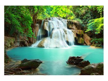 Obraz řeky s vodopády (K011969K10070)
