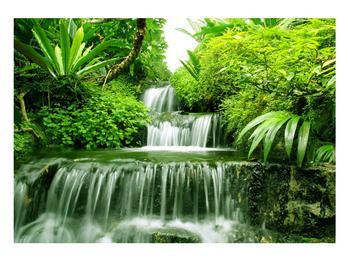 Obraz indonéských vodopádů (K012353K10070)