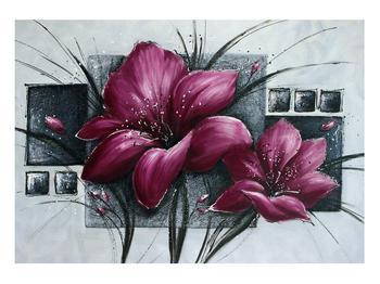 Tablou modern cu flori (K012355K10070)