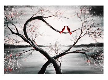 Zamilovaný obraz ptáků (K012527K10070)