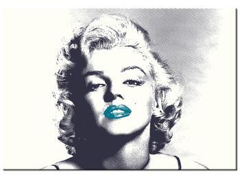 Obraz Marilyn Monroe s modrými rty (K014373K10070)