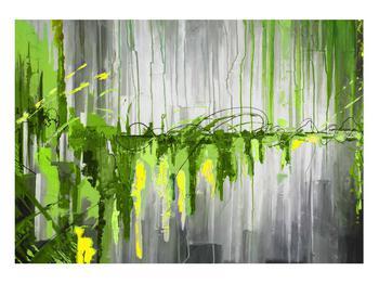Abstraktní obraz - malba (K014961K10070)