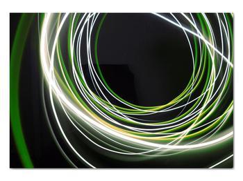 Obraz zelených čiar (V020054V10070)