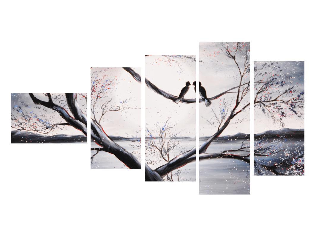 Slika zalljubljenih ptica (K012516K11060)