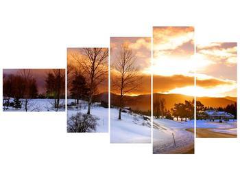 Obraz zimní krajiny (F000031F11060)