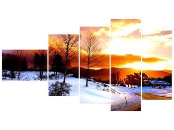 Obraz zimní krajiny (F000192F11060)