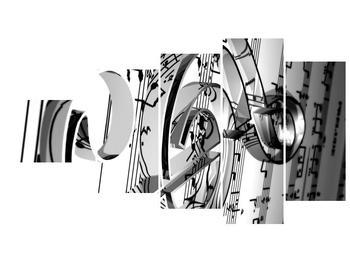Moderní obraz houslového klíče (F000206F11060)