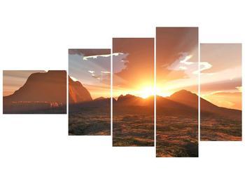 Obraz západu slunce (F000462F11060)