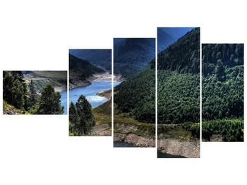 Obraz řeky a hor (F000615F11060)