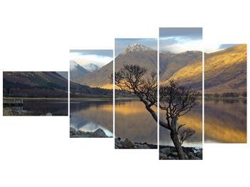 Obraz hor u jezera (F000686F11060)