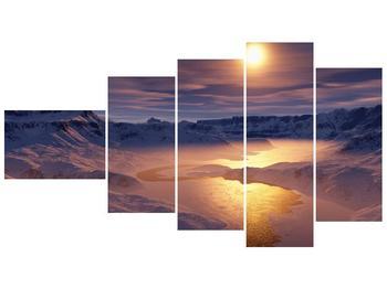 Krásný obraz zimní krajiny (F000939F11060)