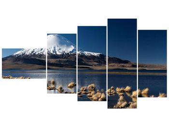 Obraz zasněžené hory (F000974F11060)