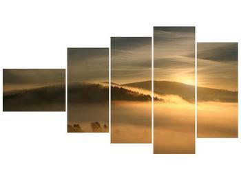 Obraz hor v mlze (F001451F11060)