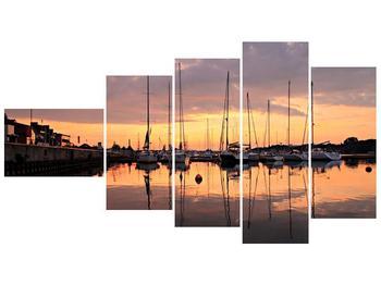 Obraz přístavu (F001605F11060)