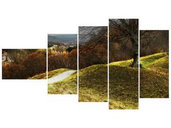 Obraz podzimního pahorku (F001650F11060)