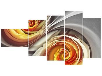 Abstraktní obraz - spirál (F001693F11060)