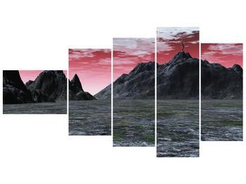 Obraz skalnaté přírody (F001712F11060)