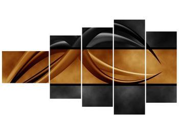 Dvoubarevný obraz chapadel (F002027F11060)