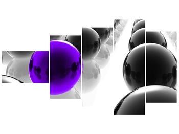 Obraz fialové koule (F002108F11060)