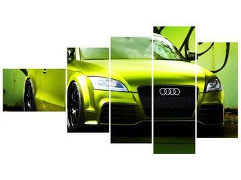 Obraz zelené Audi  (F003676F11060)