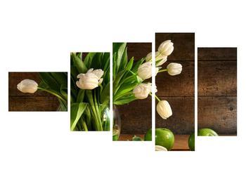 Obraz tulipánov vo váze (K011364K11060)