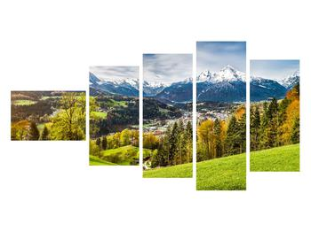 Tablou cu peisaj montan (K011867K11060)