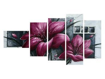 Tablou modern cu flori (K012355K11060)