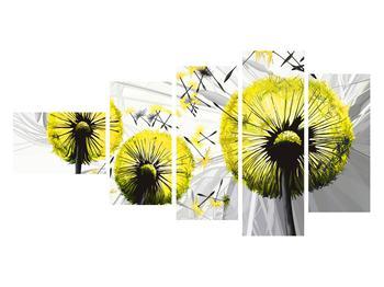 Tablou galben cu păpădii (K014028K11060)