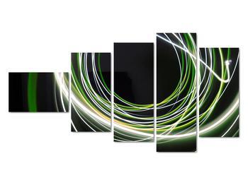 Obraz zelených čiar (V020054V11060)