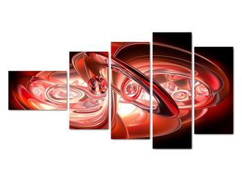 Obraz - červené tvary (V020064V11060)