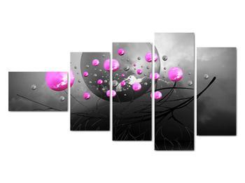 Obraz ružových gulí (V020105V11060)