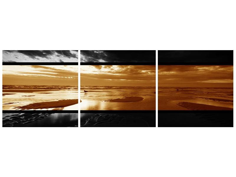 Dvroubarevný obraz moře (F001957F12040)