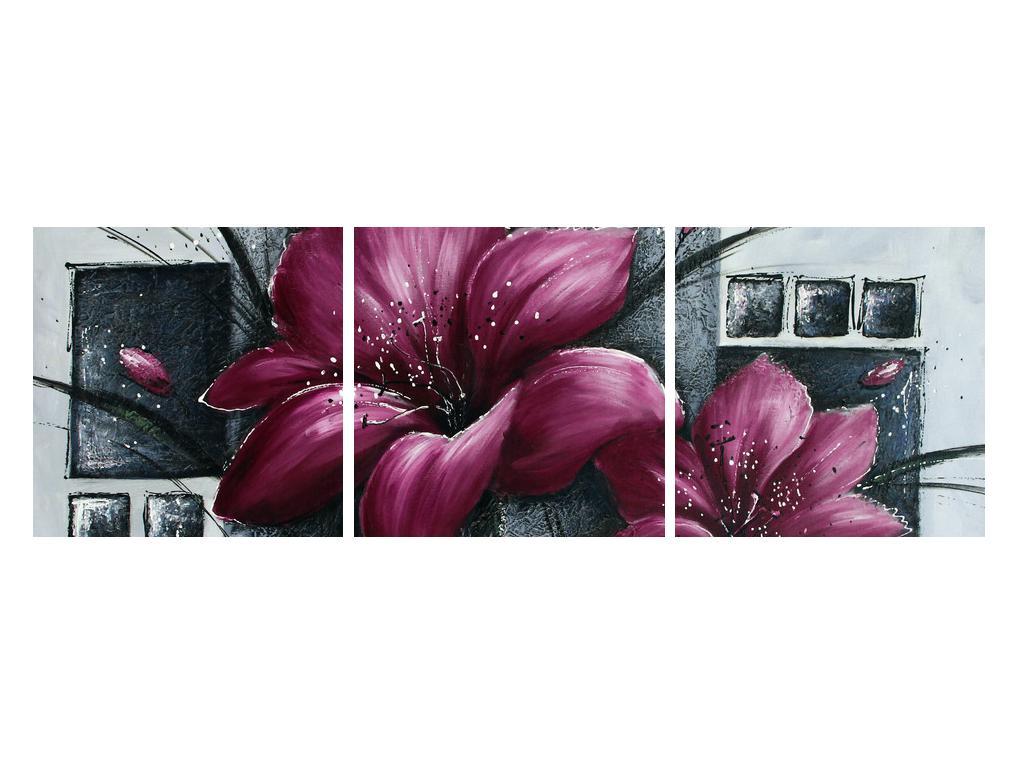 Tablou modern cu flori (K012355K12040)