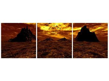 Obraz vyprahlého údolí (F000287F12040)