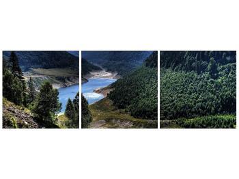 Obraz řeky a hor (F000615F12040)