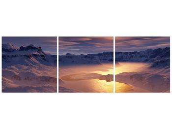 Krásný obraz zimní krajiny (F000939F12040)
