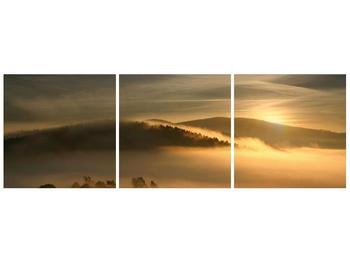 Obraz hor v mlze (F001451F12040)