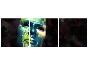 Obraz Země jako masky (F001539F12040)