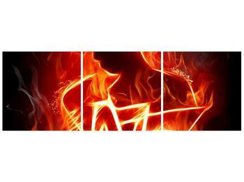 Obraz ohnivé postavy (F001691F12040)