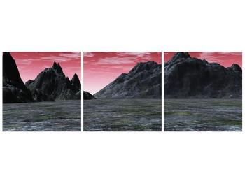 Obraz skalnaté přírody (F001712F12040)