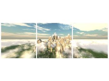 Obraz zasněžených vrcholů skal (F001715F12040)
