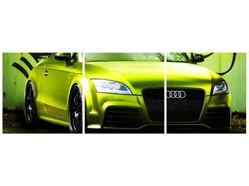 Obraz zelené Audi  (F003676F12040)
