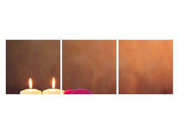 Tablou relaxant cu lumănâri și orhidee (K011120K12040)