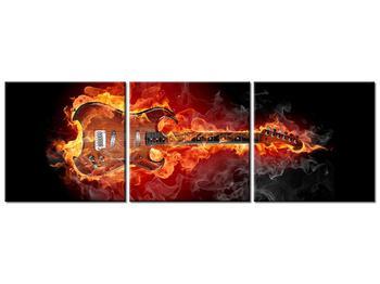 Tablou cu chitara  în foc (K011403K12040)