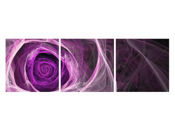Moderný obraz fialovej ruže (K011482K12040)